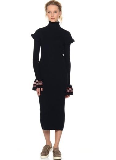 Black Pepper Elbise Lacivert
